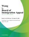 Wang V Board Of Immigration Appeal