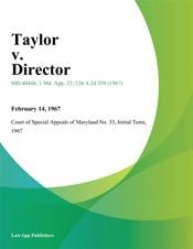 Download and Read Online Taylor v. Director