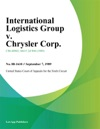 International Logistics Group V Chrysler Corp