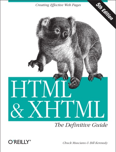 HTML  XHTML The Definitive Guide