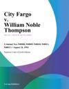 082494 City Fargo V William Noble Thompson