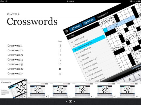 Magic Touch Crosswords American Style 1 On Apple Books