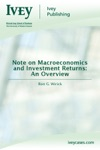 Note On Macroeconomics And Investment Returns An Overview