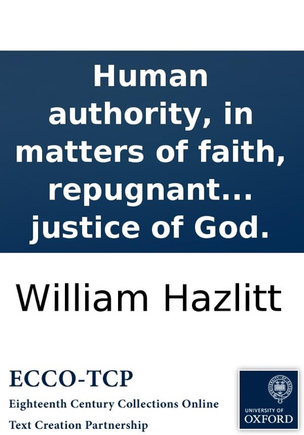 Human authority, in matters of faith, repugnant to