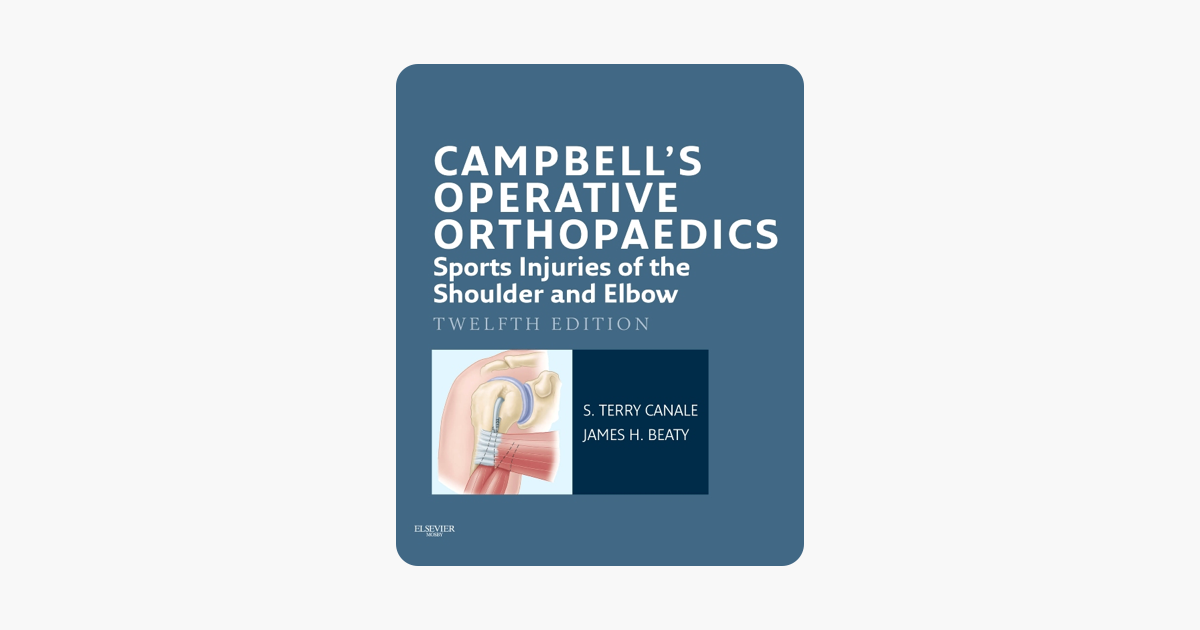 Ebook campbell orthopaedics