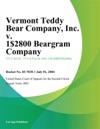 Vermont Teddy Bear Company Inc V 1-800 Beargram Company