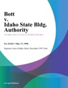 Bott V Idaho State Bldg Authority