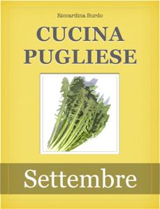 Cucina Pugliese - Settembre Libro Cover