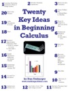 Twenty Key Ideas In Beginning Calculus