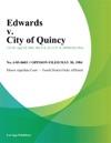 Edwards V City Of Quincy