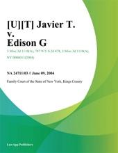 Javier T. V. Edison G.