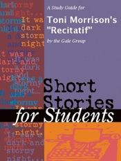 A Study Guide for Toni Morrison's