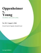Oppenheimer V. Young