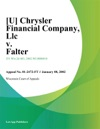 Chrysler Financial Company