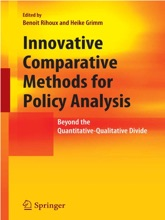 Innovative Comparative Methods For Policy Analysis