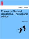 Poems On Several Occasions The Second Edition