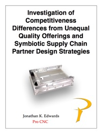 Competitiveness Differences And Symbiotic Supply Chain Design Strategies