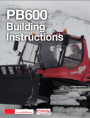 PistenBully 600 Building Instructions