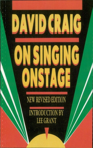 David Craig - On Singing Onstage