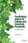 Fundraising Advice For College And University Presidents