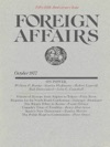 Foreign Affairs - October 1977
