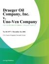 Draeger Oil Company Inc V Uno-Ven Company