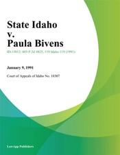 Download State Idaho v. Paula Bivens