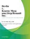 Devlin V Kearny Mesa AmcJeepRenault Inc