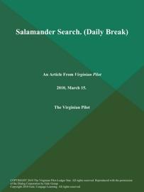 Salamander Search Daily Break