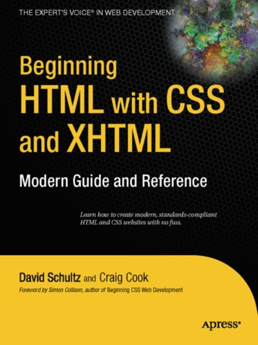 Beginning HTML with CSS and XHTML
