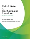 United States V Fmc Corp And American