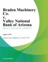 Braden Machinery Co V Valley National Bank Of Arizona