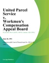United Parcel Service V Workmens Compensation Appeal Board Portanova