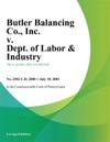 Butler Balancing Co