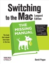 Switching To The Mac The Missing Manual Leopard Edition