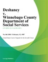 Deshaney V Winnebago County Department Of Social Services