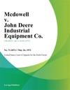 Mcdowell V John Deere Industrial Equipment Co
