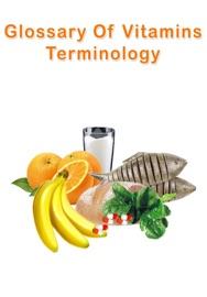 Glossary Of Vitamins Terminology