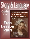 Lesson Plan Letters Of A Convict Girl - Grades 4-6