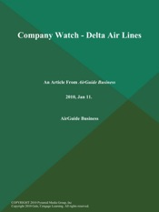 Download and Read Online Company Watch - Delta Air Lines