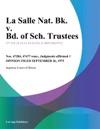 La Salle Nat Bk V Bd Of Sch Trustees