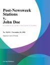 Post-Newsweek Stations V John Doe