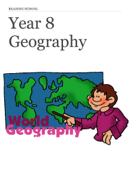 Reading School Year 8 Geography