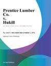 Prentice Lumber Co V Hukill