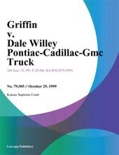 Griffin v. Dale Willey Pontiac-Cadillac-Gmc Truck