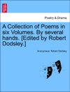 A Collection Of Poems In Six Volumes By Several Hands Edited By Robert Dodsley Vol III