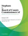 Stephans V Board Of County Commissioners Of