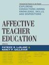 Affective Teacher Education