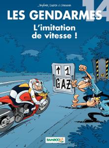 Les Gendarmes - tome 14 - L'imitation de vitesse ! La couverture du livre martien