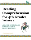 Reading Comprehension For 4th Grade Volume 2